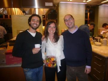 Jacob Schiffman, Jessica Levine, & Mike Baru