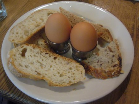 Two Soft-Boiled Eggs