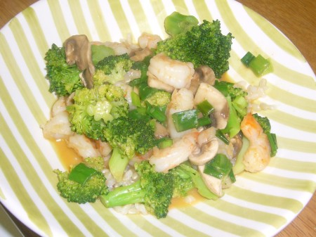 Coconut Curry Shrimp with Vegetables
