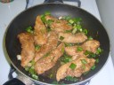 Hoisin Chicken with Green Onions