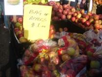 $1 3-Pound Bag of Apples
