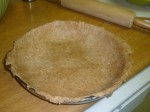 Bottom Crust in Pie Pan