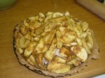 Apple Mixture in Crust