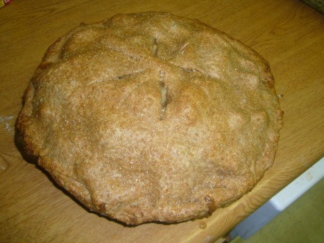Whole Wheat Apple Pie