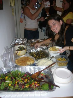 Pre-Thanksgiving Dinner Spread