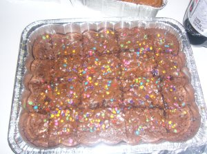 Pillsbury Funfetti Brownies