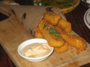 Polenta Fries & Chipotle Aioli