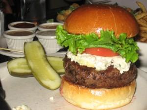 RARE Cheeseburger