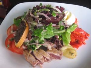 Vertigo Grilled Rare Tuna Nicoise Salad