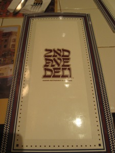 2nd Avenue Deli Menu