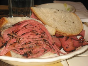 2nd Avenue Deli Pastrami Sandwich