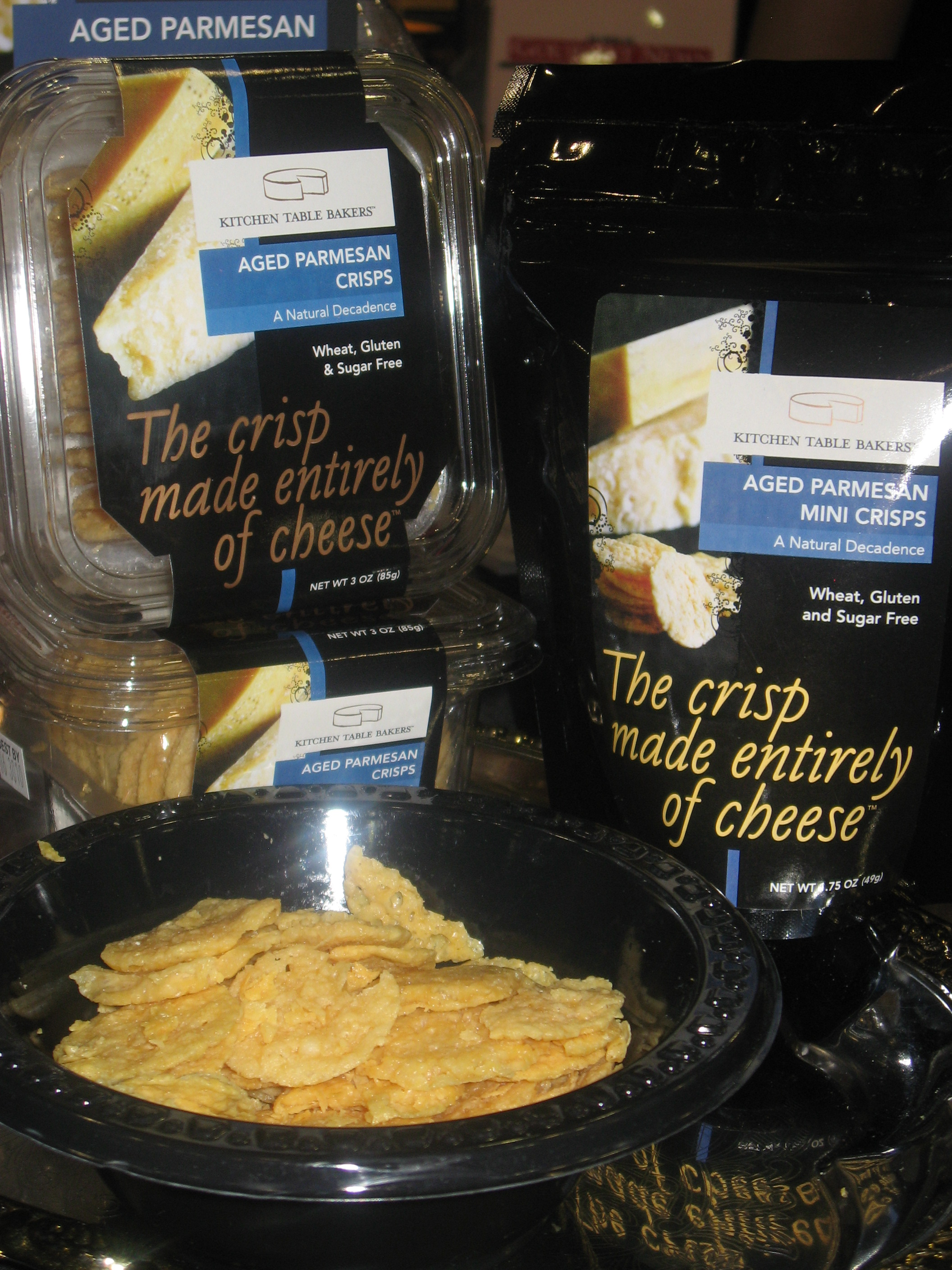 best of fancy food show kitchen table bakers Kitchen Table Bakers Cheese Crisps