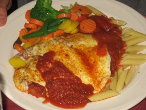 Molly Malone's Chicken Parmigiana