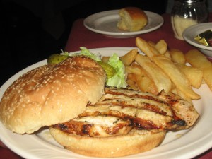 Molly Malone's Grilled Chicken Sandwich