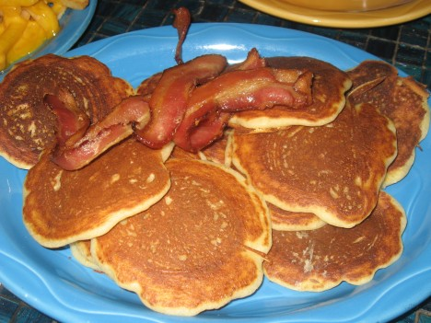 Moonstruck Silver Dollar Pancakes